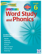 Spectrum word study & phonics gr 6