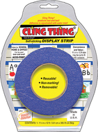 Cling thing display strip
