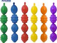 Interlocking pieces assorted 24 pcs  per unit