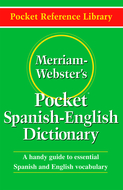 Merriam websters pocket spanish -  english dictionary