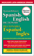 Merriam websters spanish-english  dictionary paperback
