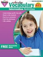 Everyday vocabulary gr 2  intervention activities