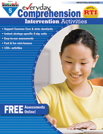 Everyday comprehension gr 5  intervention activities