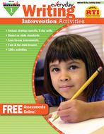 Everyday writing gr 1 intervention  activities