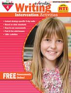 Everyday writing gr 4 intervention  activities