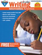 Everyday writing gr 5 intervention  activities