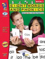 Sight words phonics book 1 gr pk-1