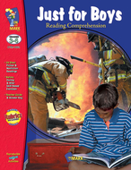 Just for boys reading comprehension  gr 3-6