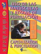 Uso de las mayusculas y reglas de  punctuacion capitalization