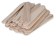 Natural wood craft sticks 500pcs  large 6l x 3/4w