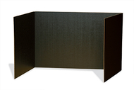 Black privacy board 48 x 16