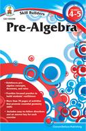Skill builders pre-algebra