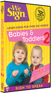 We sign dvd babies & toddlers 2