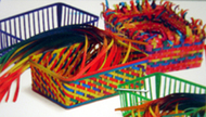 Weaving baskets 12 baskets 150  strip