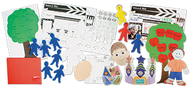 Seven about me activities kit 150pc
