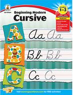 Beginning modern cursive gr 1-3