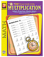 Multiplication easy timed math  drills