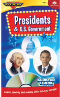 Presidents & us government cd &  book