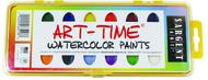 16 art time semi moist colors  w/ brush