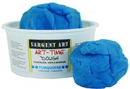 1lb art time dough - turquoise