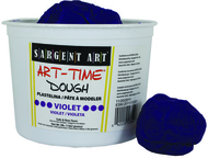 3lb art time dough - violet