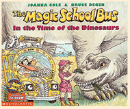 Mag.school bus in the time