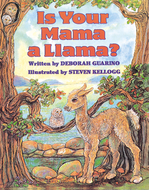 Is your mama a llama carry along  book & cd