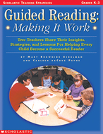 Guided reading making it work  gr k-3