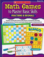 Math games to master basic skills  fractions & decimals