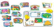 Center signs mini bb set 10/pk