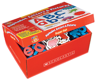 Little red tool box alphabet  letters & pictures super set