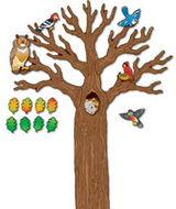 Big tree w/animals bb sets gr k-5  decorative