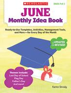 June monthly idea book