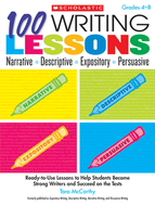 100 writing lessons narrative  descriptive expository persuasive