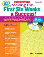 Quick tips making the first six  weeks a success