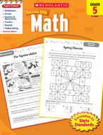Scholastic success with math gr 5