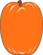 Notepad large pumpkin
