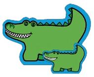 Notepad large alligator