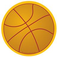 Creative shapes notepad basketball  large
