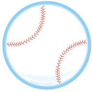 Baseball large notepad