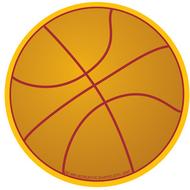 Basketball mini notepad