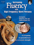 Increasing fluency w high frequency  word phrases gr 4