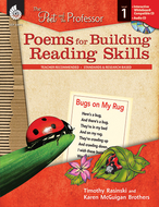 Poems for building reading skills  gr 1