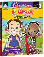 Grade level practice book & cd gr 1