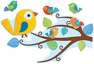 Boho birds bb set