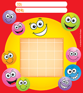 Incentive chart pad happy faces