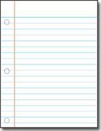 Chart notebook paper 17x22
