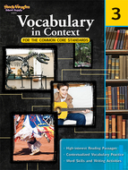 Gr 3 vocabulary in context for the  common core standards