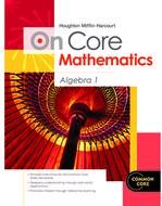 On core mathematics algebra 1  bundles