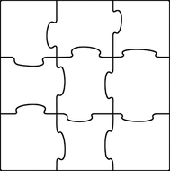 Classic accents make your own  puzzles